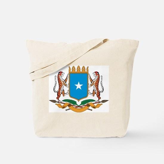 Somalia Coat Of Arms Tote Bag