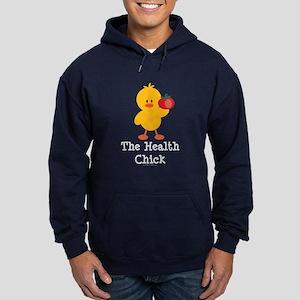 The Health Chick Hoodie (dark)