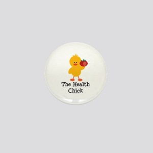 The Health Chick Mini Button