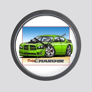 Sublime Green Charger Wall Clock