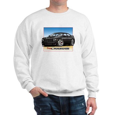 Black Dodge Charger Sweatshirt