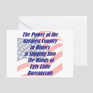 Ugly Little Bureaucrats Greeting Card