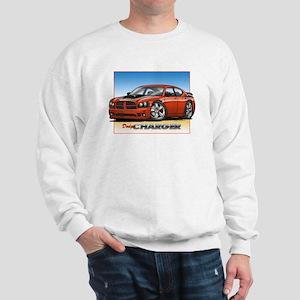 Orange Dodge Charger Sweatshirt