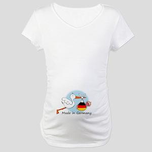 Stork Baby Germany Maternity T-Shirt