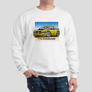 Yellow Dodge Charger Sweatshirt
