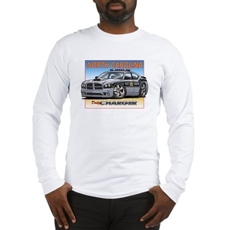 NC State Trooper Charger Long Sleeve T-Shirt