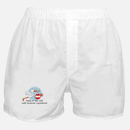 Stork Baby Austria USA Boxer Shorts