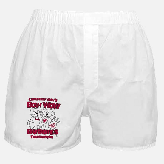 Cute Bow chica bow wow Boxer Shorts