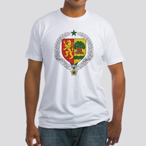 Senegal Coat Of Arms Fitted T-Shirt