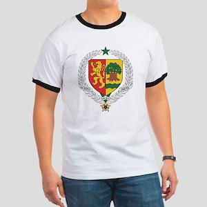 Senegal Coat Of Arms Ringer T