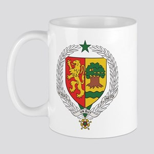 Senegal Coat Of Arms Mug