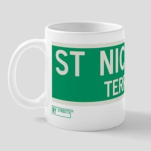 St. Nicholas Terrace in NY Mug