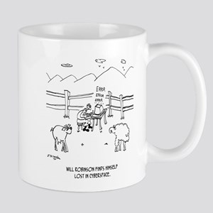 Cyberspace Cartoon 6736 11 oz Ceramic Mug