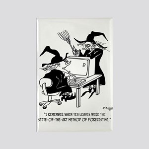 Witch Cartoon 4864 Rectangle Magnet