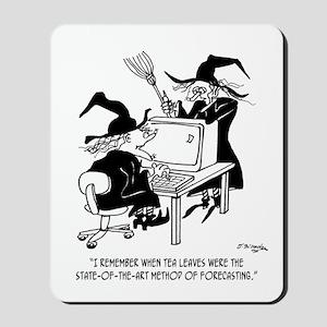 Witch Cartoon 4864 Mousepad