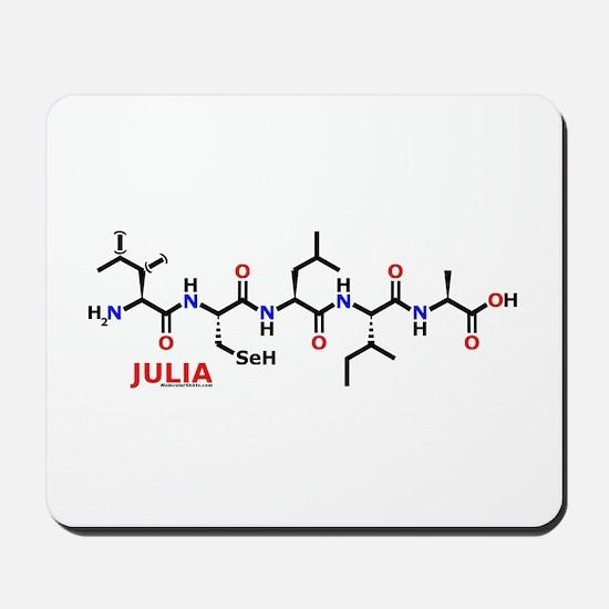 Julia molecularshirts.com Mousepad