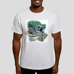 Variegated Fairy-wren Ash Grey T-Shirt