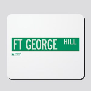 Fort George Hill in NY Mousepad