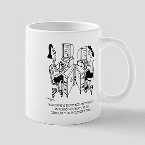 Security Cartoon 4348 11 oz Ceramic Mug