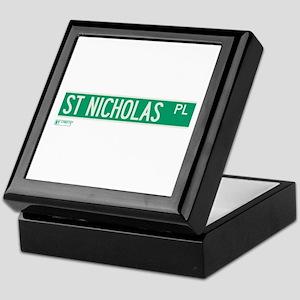 St. Nicholas Place in NY Keepsake Box