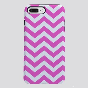 Pink Chevron Pattern iPhone 7 Plus Tough Case