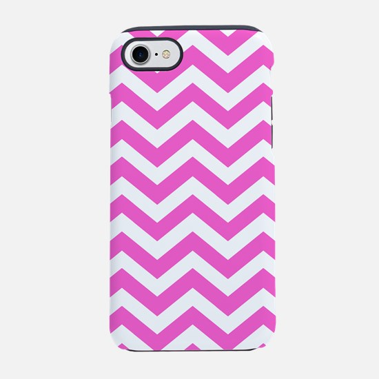 Pink Chevron Pattern iPhone 7 Tough Case