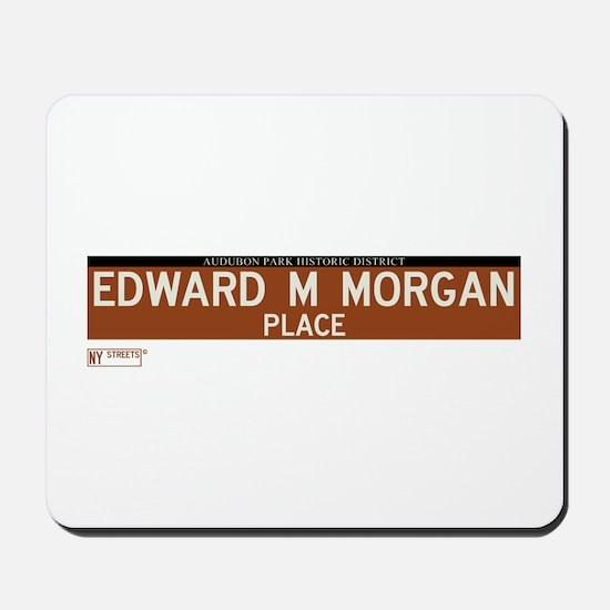 Edward M Morgan Place in NY Mousepad