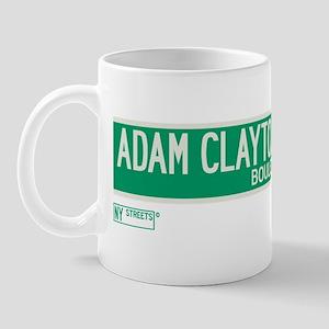 Adam Clayton Powell Jr Boulevard in NY Mug