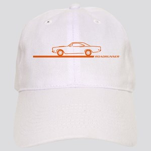 1968-69 Roadrunner Orange Car Cap