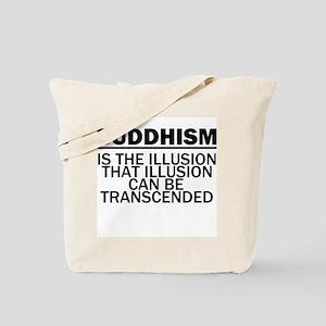 Buddhism Illusion Tote Bag
