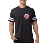 Mens Football Shirt - Black T-Shirt