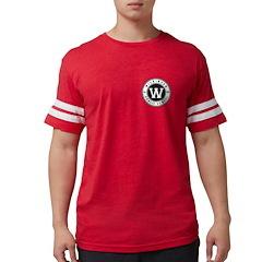Mens Football Shirt - Red T-Shirt