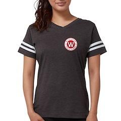 Womens Football Shirt - Black T-Shirt
