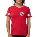 Womens Football Shirt - Red T-Shirt
