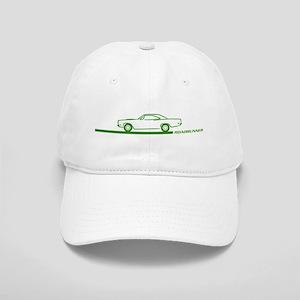1968-69 Roadrunner Green Car Cap