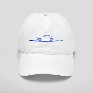 1968-69 Roadrunner Blue Car Cap