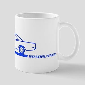1968-69 Roadrunner Blue Car Mug