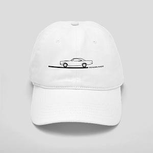 1968-69 Roadrunner Black Car Cap
