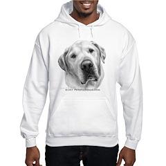 Max, Lab-Bull Terrier Mix Hoodie