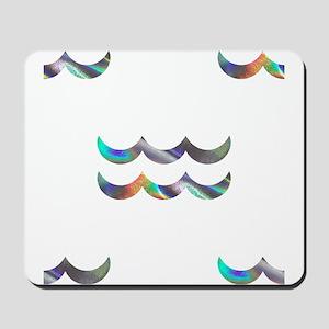 hologram aquarius Mousepad