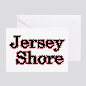 Jersey Shore Red Greeting Card