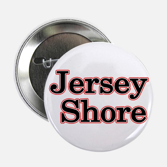 "Jersey Shore Red 2.25"" Button"