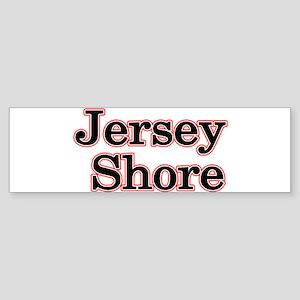 Jersey Shore Red Bumper Sticker