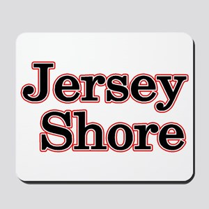 Jersey Shore Red Mousepad