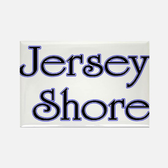 Jersey Shore Blue Rectangle Magnet