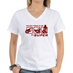 Best Things In Life Women's V-Neck T-Shirt