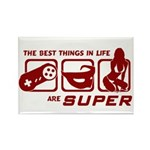 Best Things In Life Rectangle Magnet (100 pack)