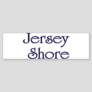 Jersey Shore Blue Bumper Sticker
