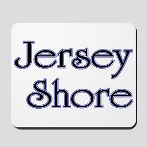 Jersey Shore Blue Mousepad