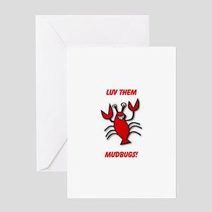MUDBUGS Greeting Card